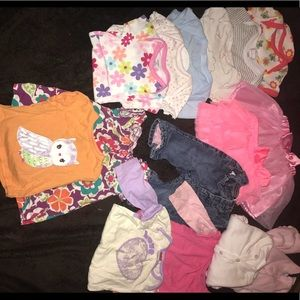 3-6 month baby girl lot.